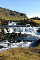 waterfall in Iceland photo