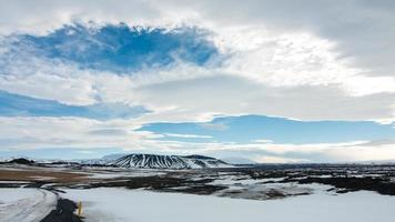 Hverfjall from Ring Road photo