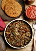 Papad ka Shaak - a Veg dish from Rajasthan
