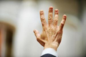 Hand vote photo