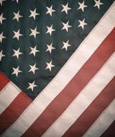 Retro Styled Image Of USA Flag