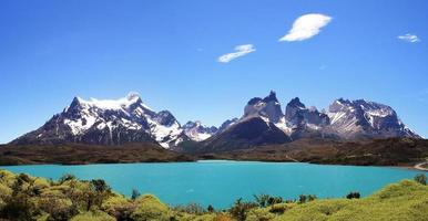 National Park Torres del Paine in southern Chile photo