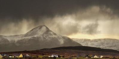 Weather over Errigal