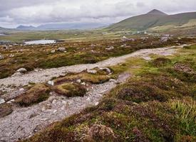 The Dingle mountains on a windy day photo