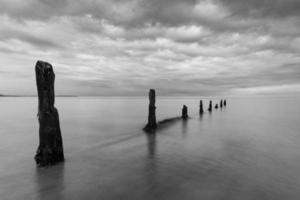 The Groynes on a summers evening