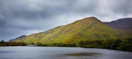 Diamon Hill and Kylemore lake