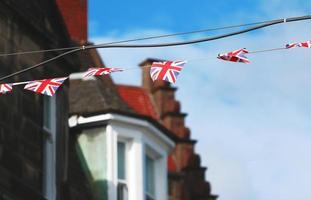 Union Jack Flying