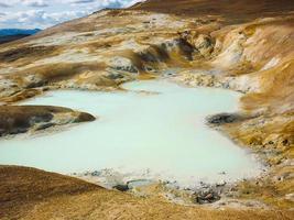 Islandia, zona volcánica de Krafla