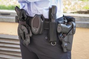 cinturón de policía