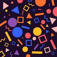 Geometric Patterns background vector