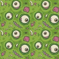 Zombie skin with eyeball