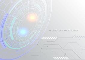 Fondo abstracto tecnológico y futurista.