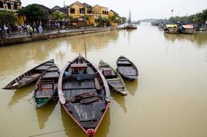 Hoi An Boats - Vietnam photo
