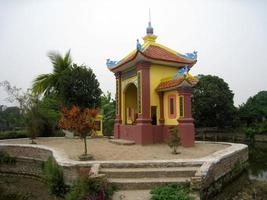 Tomb of Bui Thi Hy, ancestor of Chu Dau ceramic, Vietnam