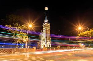 Con Ga church in Dalat city photo