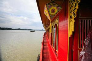 Tourist boat on the river-Hue Viet Nam