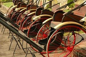 rickshaw o ricksha foto