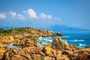 Beach at Phu Yen province, Vietnam photo