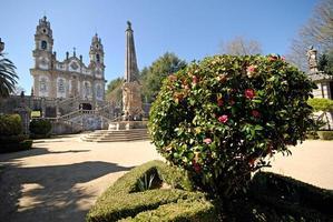 The Church of Nossa Senhora dos Remedios, Lamego, Portugal.