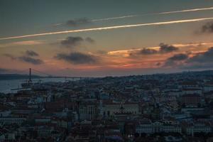 Sunset in Lisbon - Portugal