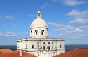 cúpula, iglesia, lisboa, portugal