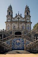 The Church of Nossa Senhora dos Remedios. Town Lamego, Portugal