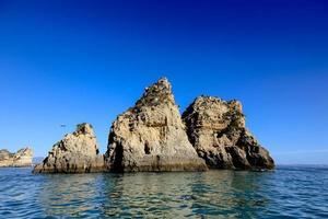 Yellow cliffs Algarve, Portugal