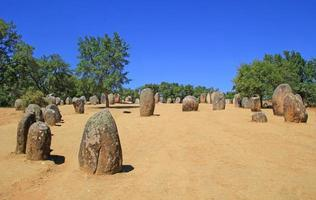 Almendres megalithic complex, Portugal
