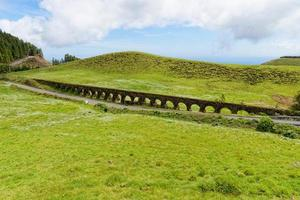 An old aqueduct in Sao Miguel island