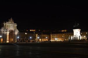 Square at Night