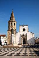 Small cathedral in Tomar, Portugal