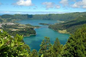 Lagoa das Sete Cidades, Azores, portugal photo