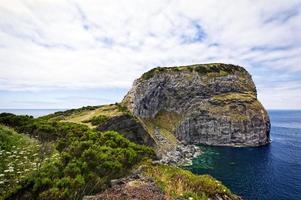 Roca de castelo branco, isla de faial