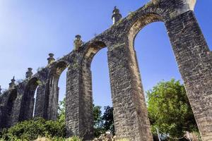 Aqueduct in the Templar Convent of Christ in Tomar