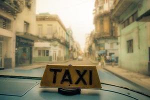taxi in Havana photo