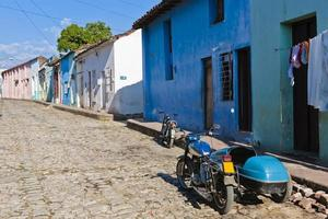 Cobbled Alley of Sancti Spiritus, Cuba photo