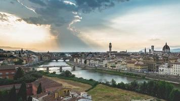 Panorama of Firenze. City of Art in Tuscany . Italy photo
