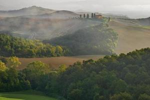 Countryside, San Quirico, Orcia , Tuscany, Italy