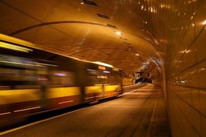 Tunnel in Warsaw
