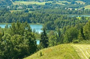 Lake Jaczno the Suwalki region.