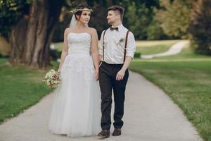 weddig day in Poland photo