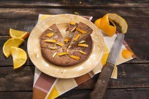 Cake with chestnut flour