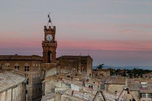 Rooftops of Pienza