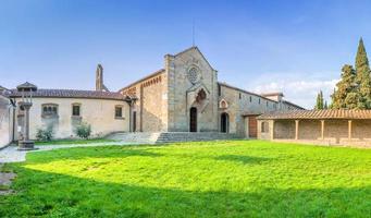 San Francesco monastery on Fiesole hill in Firenze - Italy photo