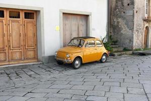Italian car in Sicily