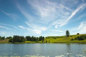 lago negro en la región de suwalki osinki