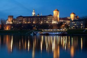 The Wawel Castle by night