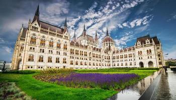 Hungarian Parliament building photo