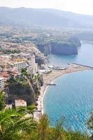 City on amalfi coast