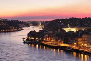 paisaje urbano de porto y puente arrabida